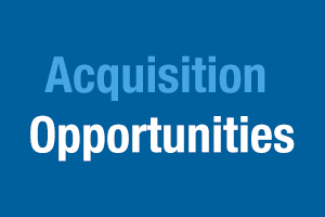 Acquisition Opportunities