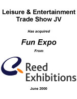 Leisure and Entertainment Trade Show Joint Venture
